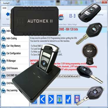 BMW Tech Key Coding Program Keys